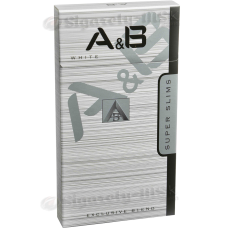 A&B - WHITE SUPER SLIM