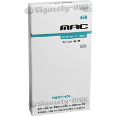 MAC - MENTHOL FLAVORED SUPER SLIM